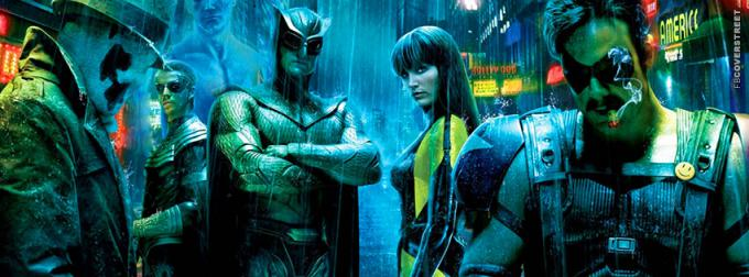 Il cast di Watchmen