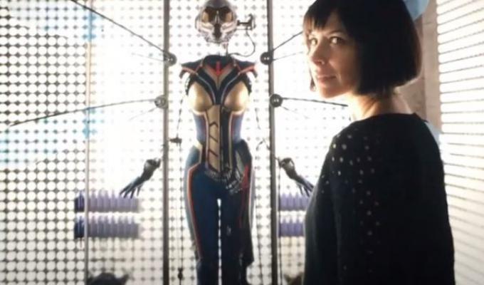 Evangeline Lilly è pronta a indossareil costume di Wasp nel 2018.
