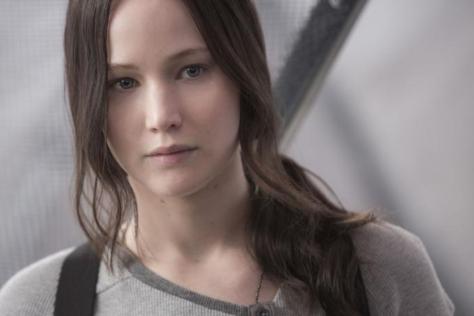 Jennifer Lawrence è Katniss Everdreen in Hunger Games: il canto della rivolta - Parte 2