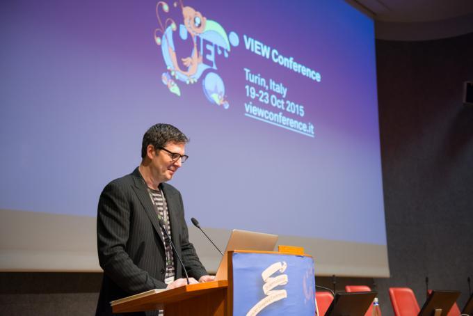 Mark Osborne alla VIEW Conference