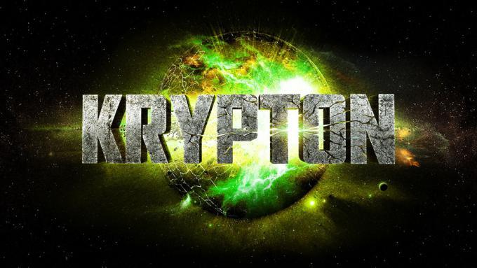 Il logo della serie televisiva Krypton