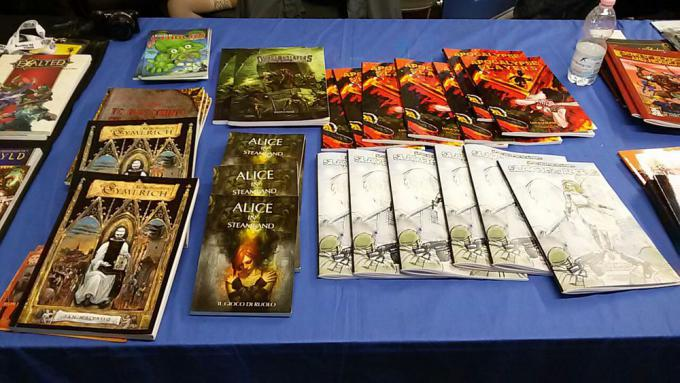 Giochi Wild Boar a Lucca Comics and Games
