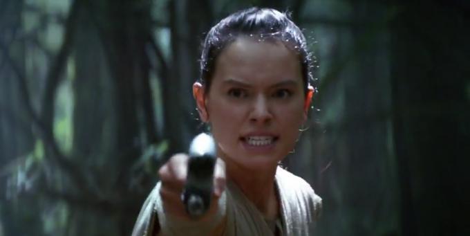 Rey nel nuovo spot TV per Star Wars: Il risveglio della Forza
