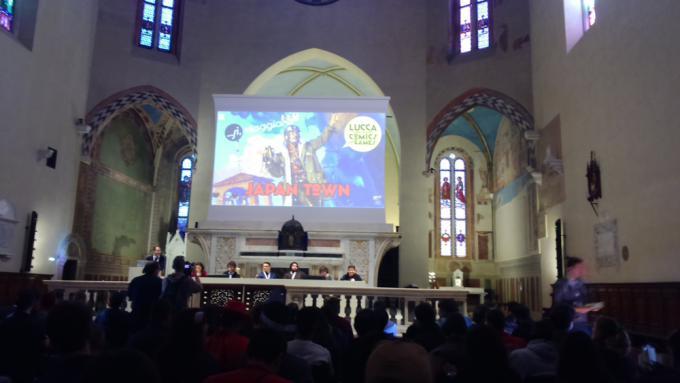 La storia di Neon Genesis Evangelion rievocata a Lucca Comics and Games.