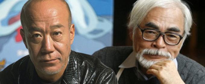 Joe Hisaishi e Hayao Miyazaki