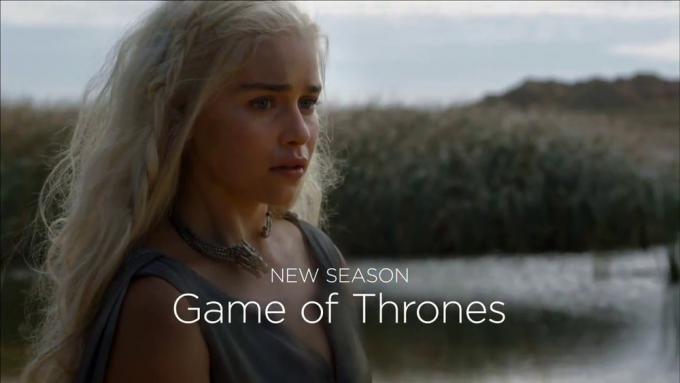 Emilia Clarke nella sesta stagione di Il Trono di Spade