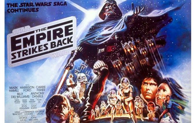 L'impero colpisce ancora. Poster originale del 1981