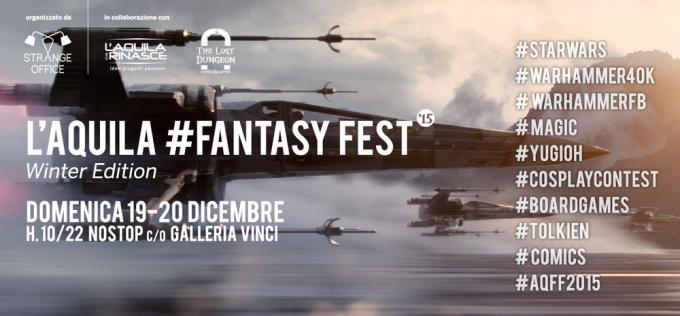 L'Aquila FantasyFest 2015 - Winter Edition