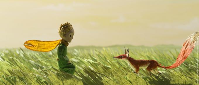 Un fotogramma di Il Piccolo Principe