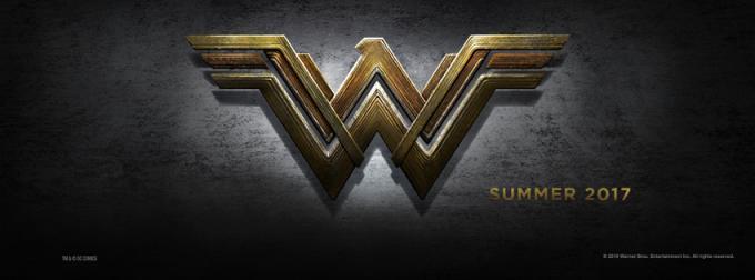 Il logo ufficiale del film su Wonder Woman