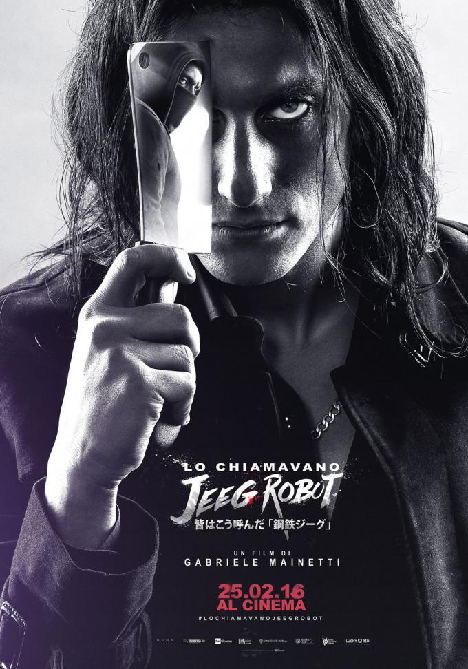 Il secondo character poster del film Lo chiamavano Jeeg Robot