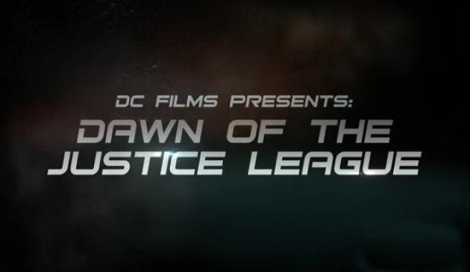 The Dawn of The Justice League