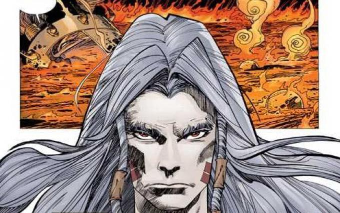 Elric in un disegno di Walt Simonson