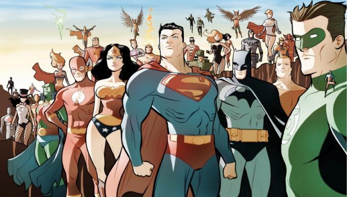 La Justice League illustrata da Marcio Takara