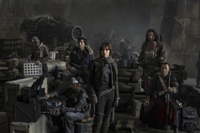 Il cast di Star Wars: Rogue One