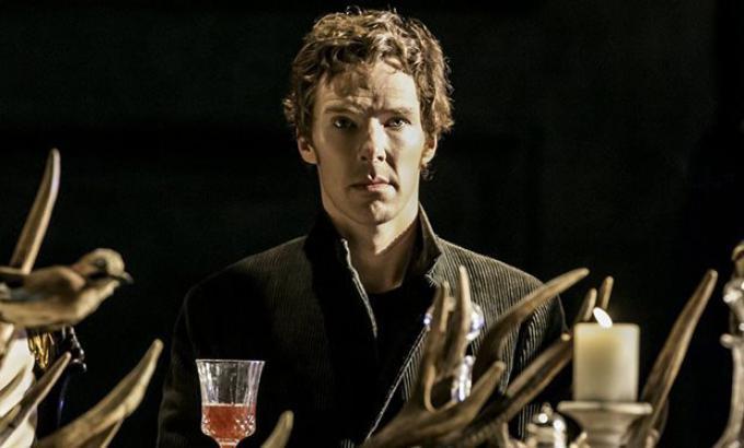 Beneditch Cumberbatch è Amleto nell'edizione portata al Barbican di Londra nel 2015