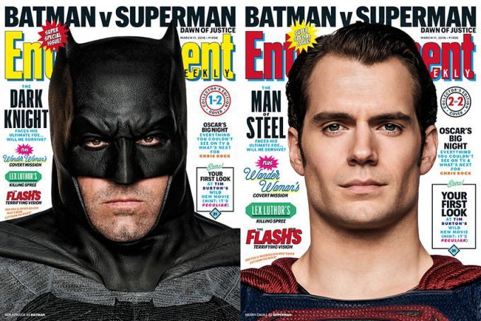 Le due copertine del numero di marzo 2016 di Entertainment Weekly