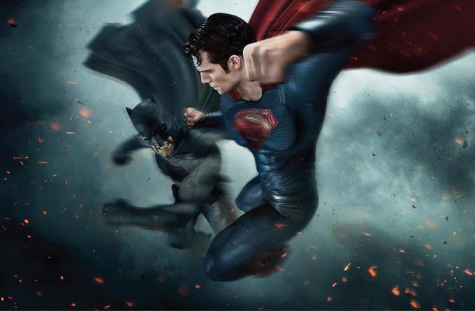 Un'immagine promozionale di Batman v Superman: Dawn of Justice