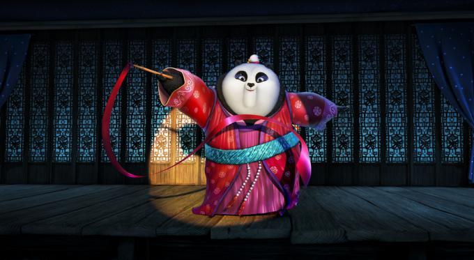 Mei Mei, nuovo personaggio di Kung Fu Panda 3