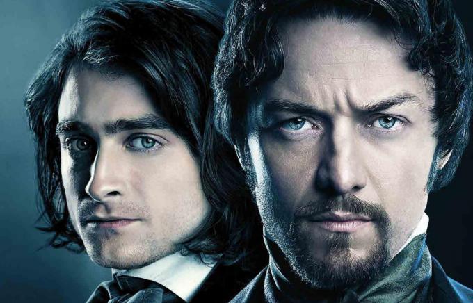 Daniel Radcliffe e James McAvoy