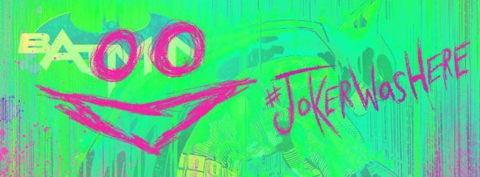 L'immagine del diario della pagina ufficiale Facebook di Batman, violata dal Joker