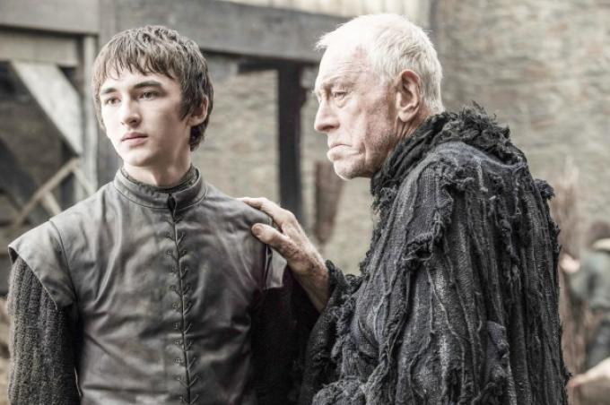 Isaac Hempstead-Wright e Max von Sydow