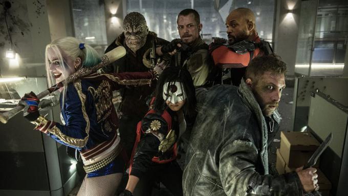 La Suicide Squad in una foto ufficiale del film