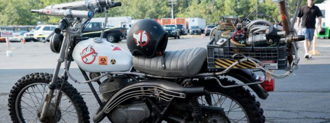 La moto di Kevin in Ghostbusters