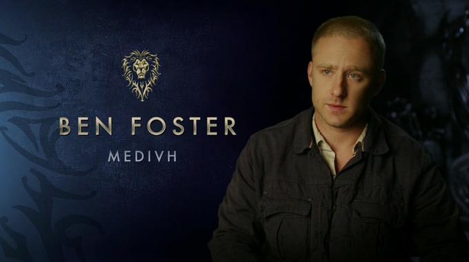 Ben Foster è Medivh in Warcraft - L'inizio