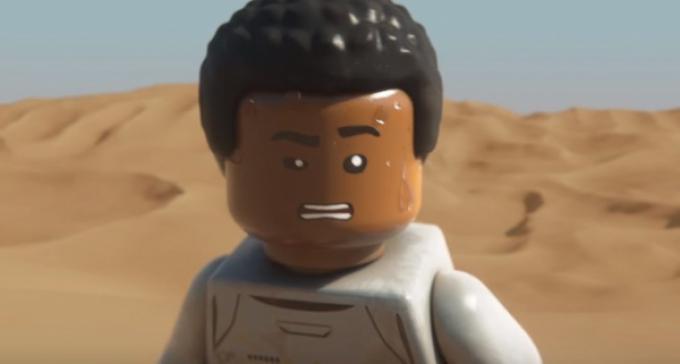 Finn in LEGO Star Wars: il risveglio della Forza