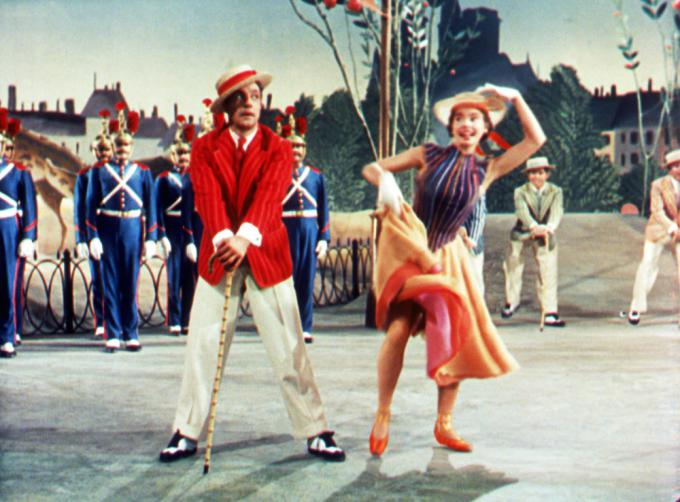 Gene Kelly e Leslie Caron