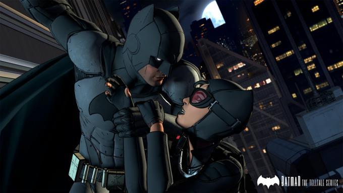 Batman e Selina Kyle