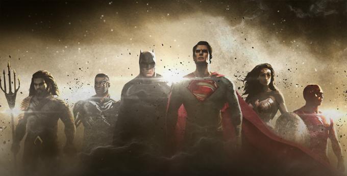 Justice League, concept art ufficiale