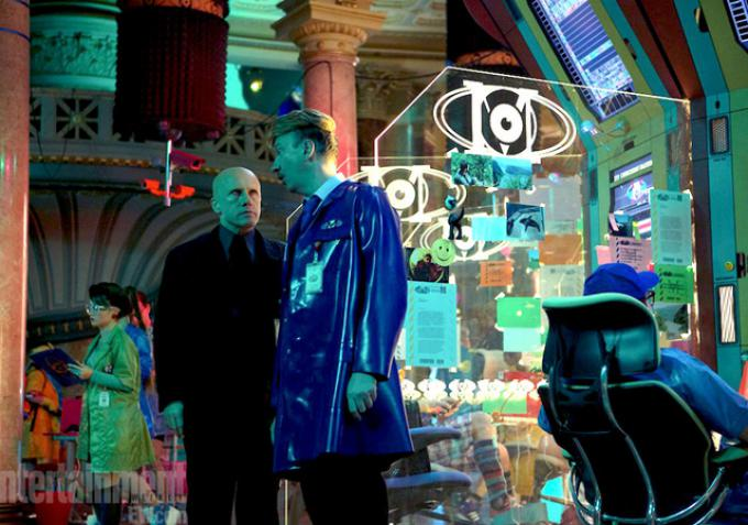 Christoph Waltz e David Thewlis in Zero Theorem