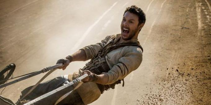 Jack Huston nel ruolo di Ben-Hur