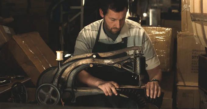 Adam Sandler in <i>Mr Cobbler e la bottega magica</i>