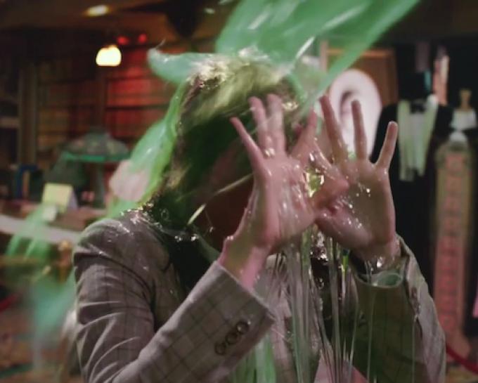 "Una scena ""viscida"" di Ghostbusters"