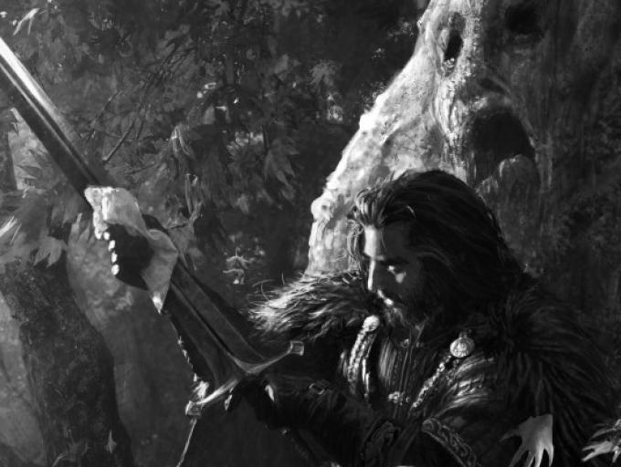 Un'immagine dalla versione illustrata di Il trono di spade