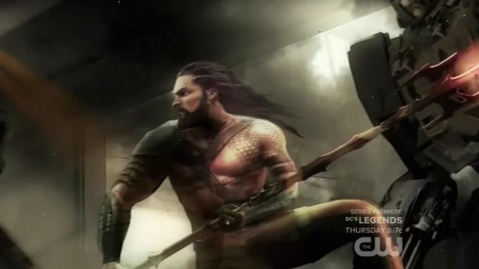 Jason Momoa nel ruolo di Aquaman in BvS