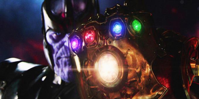 Thanos e il Guanto dell'Infinito