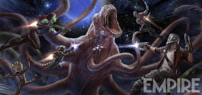 La prima concept art da Guardiani della Galassia Vol. 2