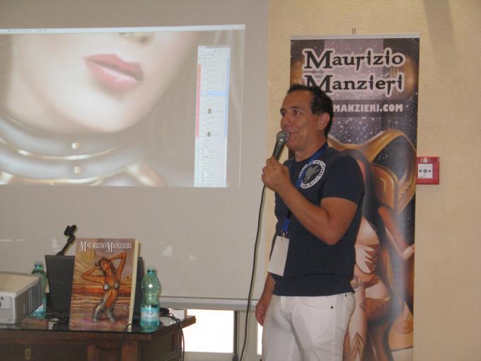 Maurizio Manzieri al Sassari Comics and Games
