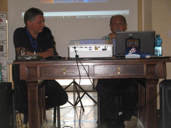 Paolo D'Angelo e Umberto Guidoni