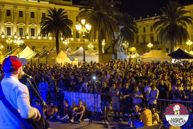 Piazza D'Italia al Sassari Comics and Games - Foto di Carlo Giuà