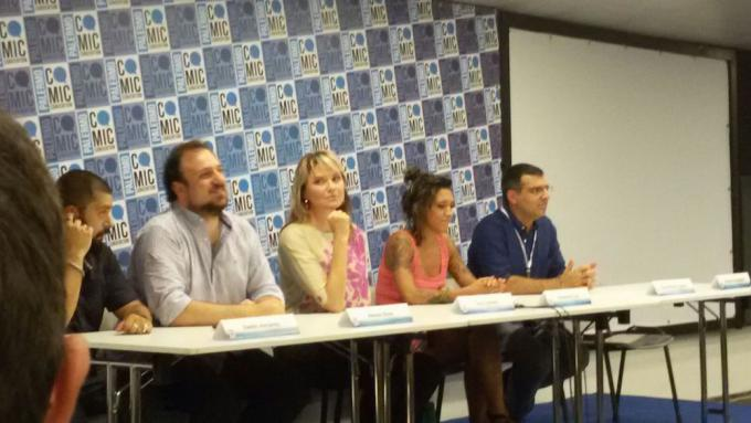 Lucy Lawless alla Palermo Comic Convention