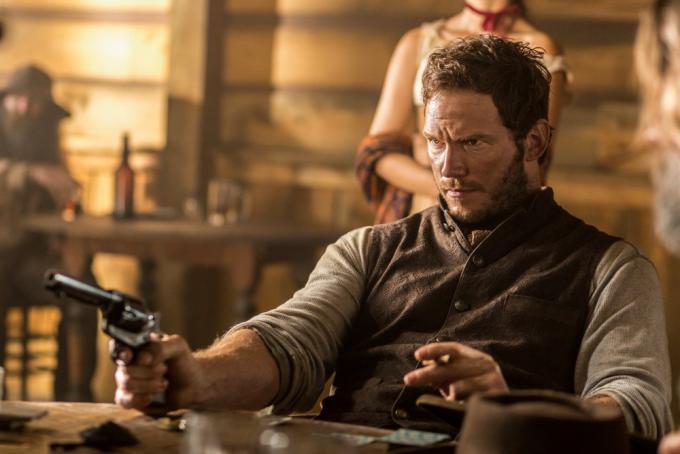 Chris Pratt in I magnifici 7