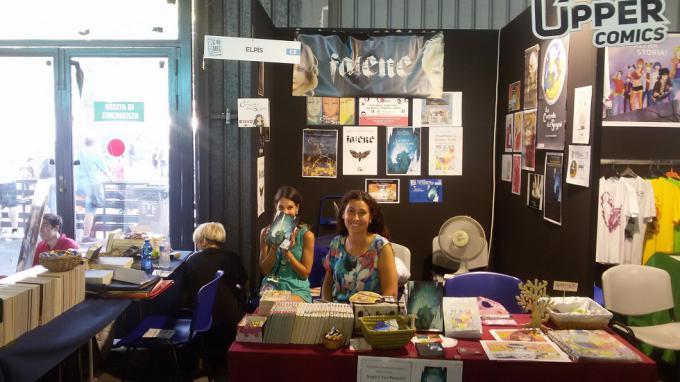 Lo stand Elpis alla Palermo ComicCon