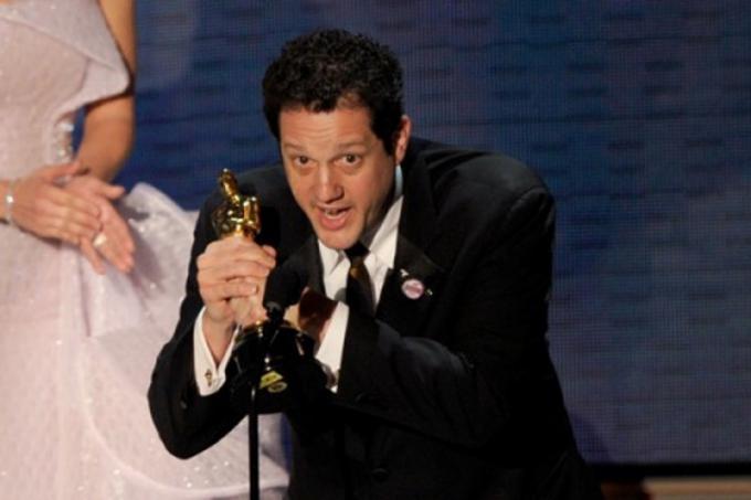 Michael Giacchino ritira l'Oscar per Up