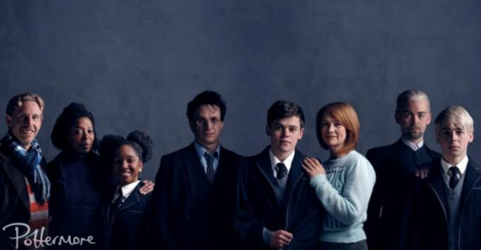 Il cast di Harry Potter and The Cursed Child