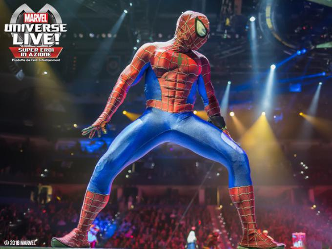 Spider-Man in Marvel Universe Live!